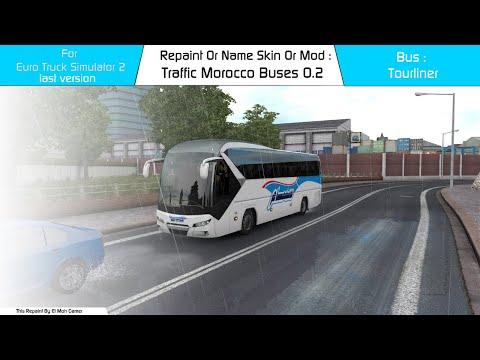 El Moh Gamer - Traffic - Morocco Buses V0.2 - ETS2 1.39