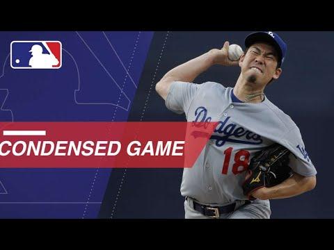 Condensed Game: LAD@SD - 7/11/18