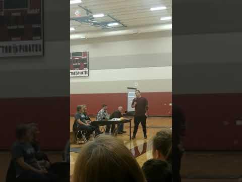 Devin speaking in Dayton OR 4/26/18