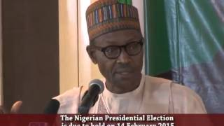 General Muhammadu Buhari (rtd) Means Business (Lagos House FEB. 2015)