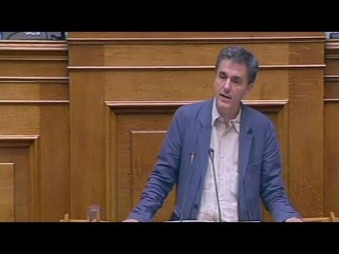 """Ε.Τσακαλώτος:""""Με κυβέρνηση ΣΥΡΙΖΑ ποτέ ξανά Grexit"""""""