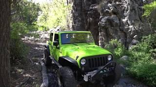 Smiley Rock Offroad Trail Near Jerome, Arizona