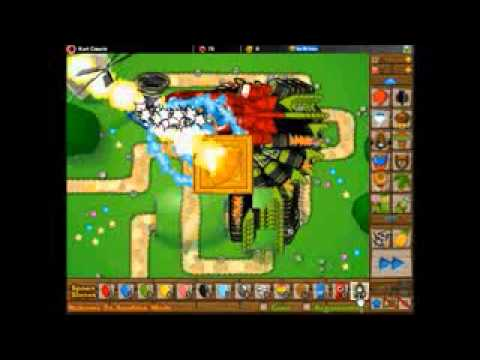 BTD5 - 1 Temple of the Monkey God vs 50, 60, 70, 80, 90 ,100, 110, 120, 130 ZOMG
