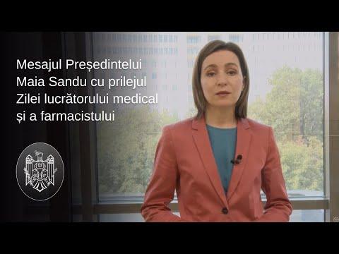 """Președintele Maia Sandu a felicitat lucrătorii medicali și farmaciștii: """"Sistemului medical trebuie să-i redăm credibilitatea"""""""