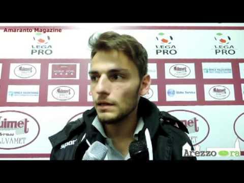 Arezzo-Real Vicenza 2-0 / Intervista a Panariello