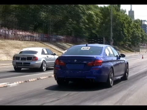 audi a4 3.0 biturbo vs bmw f10 m5