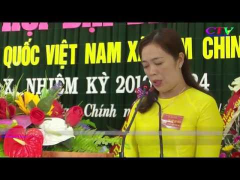 Đại hội Đại biểu UBMTTQVN xã Cam Chính