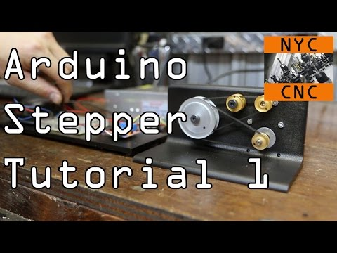 Arduino Stepper Motor Tutorial!  Widget46