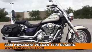 9. Used 2009 Kawasaki  Vulcan 1700 Classic Motorcycle for sale
