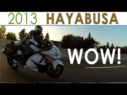 2013 Suzuki Hayabusa REVIEW!