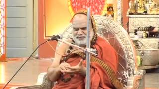 Full length of the Anugraha Bhashanam by Jagadguru Sri Bharathi Theertha Mahaswamigal of Sringeri Sarada Peetam at a function organised by Samskrita ...