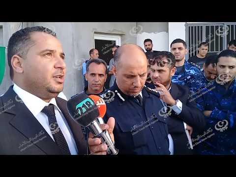 وكيل وزارة الداخلية لشؤون الهجرة غير الشرعية يزور مركز إيواء زوارة