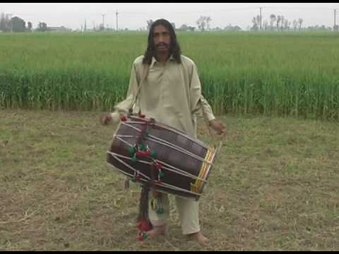 dhool - Sain Abbas is a very poer person but he is perfect artist... sain abbas total weight is low about 2 Dhool Weight.. but he is rounded and playing 5 Dhool and ...