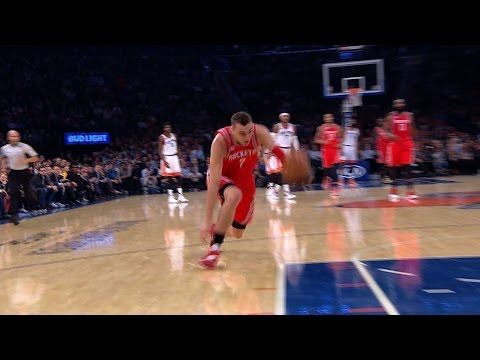 Sam Dekker with Early Contender for Blooper of the Year