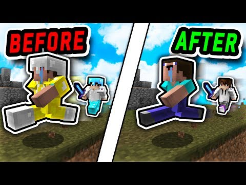 INVISIBLE ARMOR TEXTURE PACK CHALLENGE! (Minecraft Skywars)