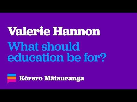 Kōrero Mātauranga Christchurch - Valerie Hannon