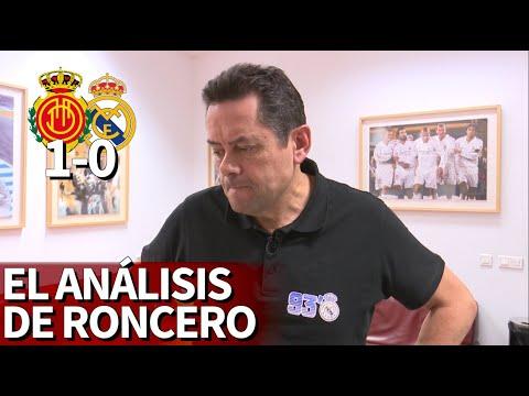 Mallorca 1 Real Madrid 0  Roncero, hundido con la primera del Real Madrid en Liga  Diario AS