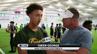 New London QB Owen George