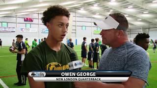 New London QB Owen George