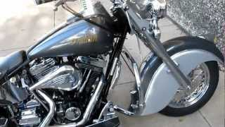 10. 2000 Indian Chief Millenium edition, two into one Indian Super trapp exhaust, for sale