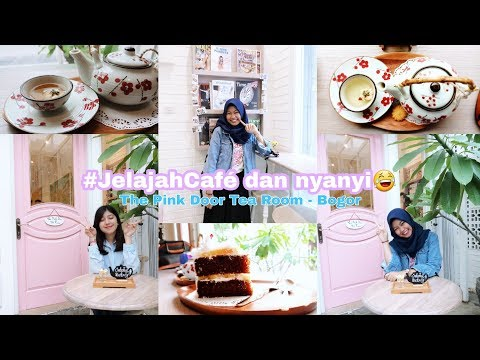 Cafe Di Bogor (The Pink Door Tea Room Cafe) Dan Bonus Karaoke😂 | #JelajahCafe