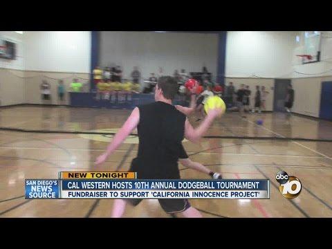 California Western School of Law hosts 10th annual dodgeball tournament fundraiser