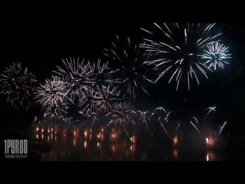 | HD | Ftes de Genve 2012, feu d&#8217;artifice, fireworks, Feuerwerk (cut-version)
