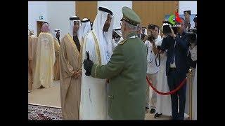 Gaïd Salah prend part à l'ouverture du 14ème Salon international  de  défense à Abou Dhabi