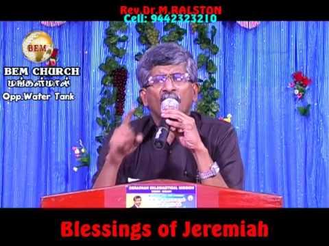 Blessings Of Jeramiah Part 1
