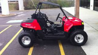 9. 2011 Polaris RZR 170 with big wheel kit
