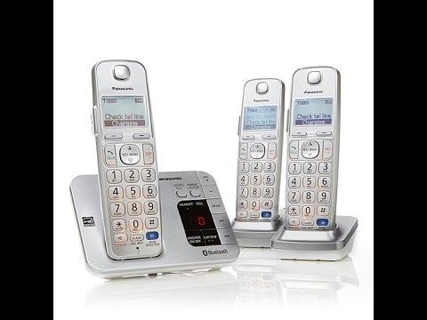 Panasonic DECT 6 PLUS Link2Cell Cordless Phone 3pk