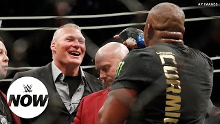 Video Brock Lesnar and Daniel Cormier's UFC beef explained: WWE Now MP3, 3GP, MP4, WEBM, AVI, FLV Juli 2018