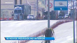 Rodovias do interior de SP terão 16 novas praças de pedágio