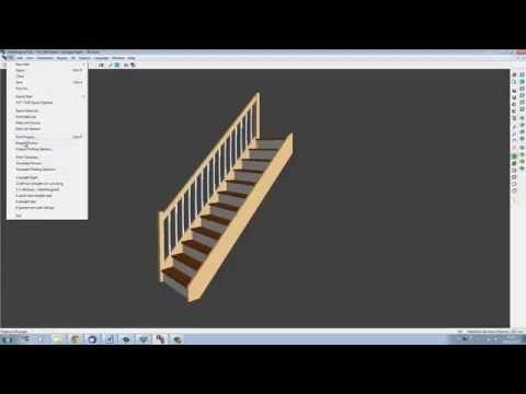 Quick and Easy Design with StairDesigner | Wood Designer Ltd