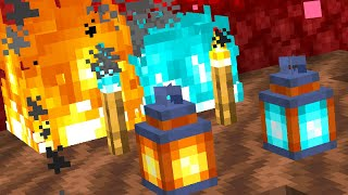 How SOUL FIRE Works and New Soul Torches and Lanterns in Snapshot 20w06a!