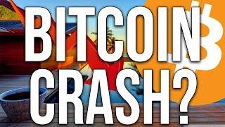 OMG - Bitcoin CRASH! Hit The Panic Button? Bitcoin Price Prediction And News?