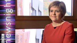 Nicola Sturgeon Talks To Kirst Wark