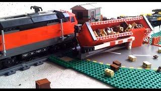 Nonton 2 Lego Trains Hitting 1 Car   Crash At Crossing Film Subtitle Indonesia Streaming Movie Download