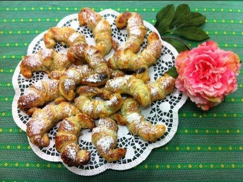 Receta: Medialunas de Nutella y coco / Nutella-coconut Croissants (fáciles, rápidas y deliciosas)