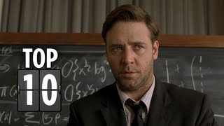 Top Ten Geniuses Portrayed In Films  Movie Top 10 List HD