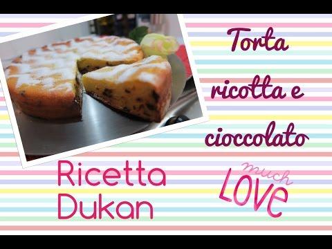 torta ricotta e cioccolato superdietetica - ricetta