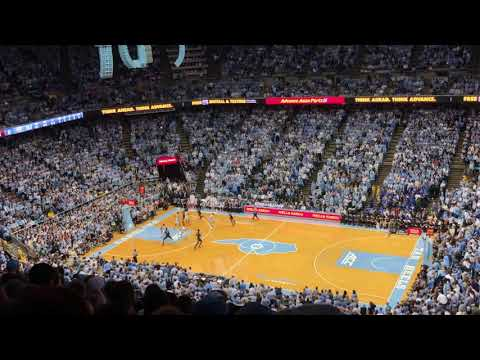 Duke vs UNC tip off and first possession at Chapel Hill! 3.9.2019