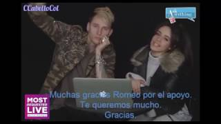 Machine Gun Kelly Camila Cabello MRL AskAnythingChat w/ Romeo | SUBTITULADO ESPAÑOL Video