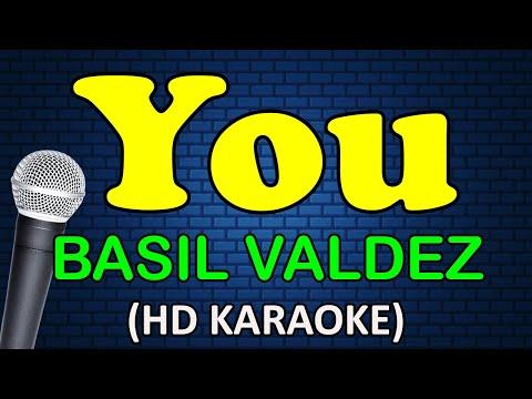 YOU - Basil Valdez (HD Karaoke)