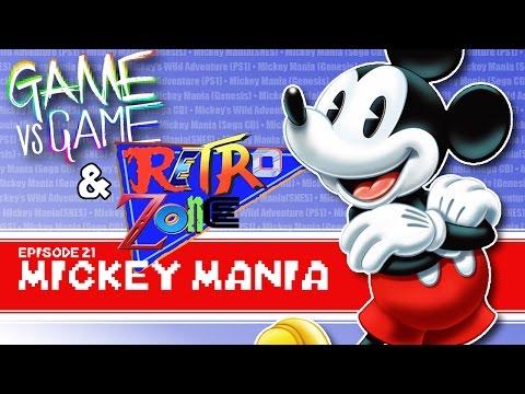 Mickey Mania - Genesis, SNES, Sega CD, PS1 - Game vs Game feat. Retro Zone