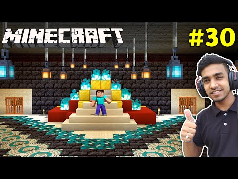 I MADE MY BEAUTIFUL CASTLE | MINECRAFT GAMEPLAY #30