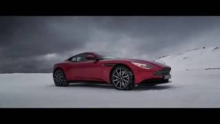 DB11 on ice in New Zealand