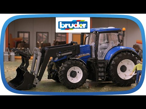New Holland T7.315 -- 03121 -- BRUDER Spielwaren