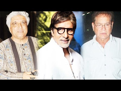Amitabh Bachchan Praises Sholay Writers Javed Akht