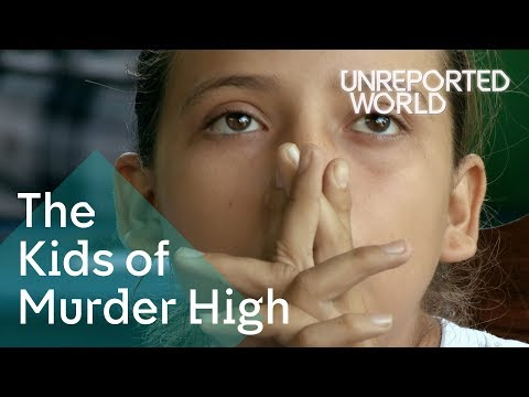 Going to school amid violence in Honduras | Unreported World